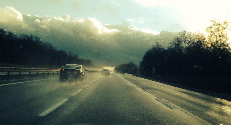 Paul Yves Poumay - raining-car-under-sun.jpg