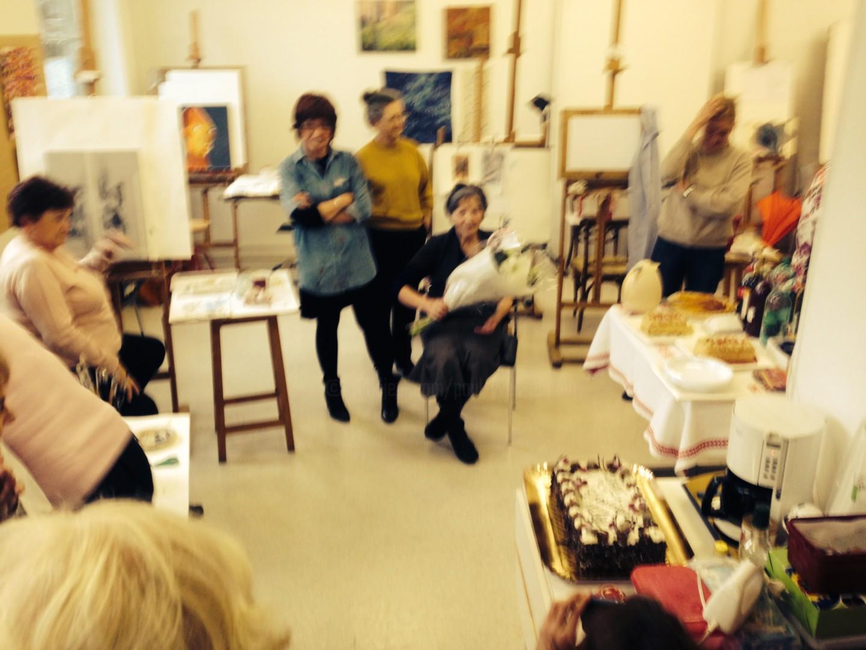 Paul Yves Poumay - atelier d'artistes academie anniversaire