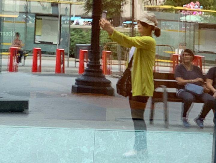 Paul Yves Poumay - dépassé par son image - the chinese selfie